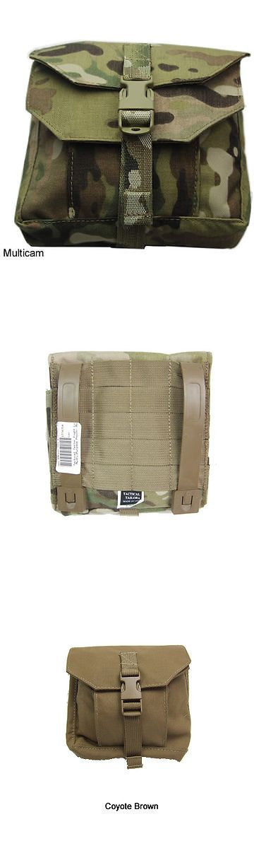 Tactical Molle Pouches 177900: Tactical Tailor Fight Light Multi Purpose Pouch - Multicam - New And In Stock BUY IT NOW ONLY: $31.95
