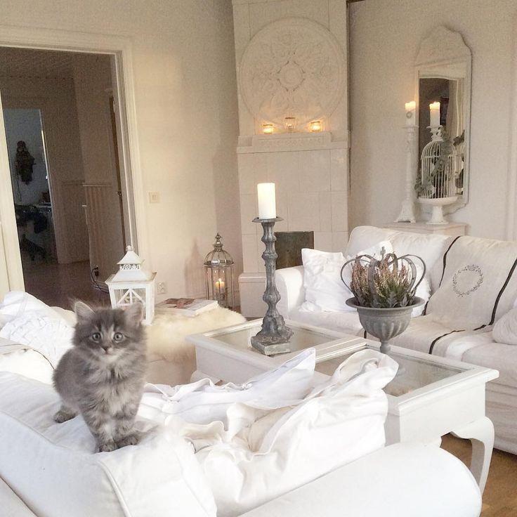Шведский интерьер дома (larkhuset)