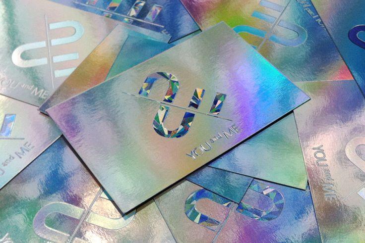Branding & Namecard Design : You & Me Creative #Design #Namecard