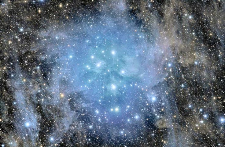 Pleiades Deep Field: Stars Cluster, God, Galaxies, Beautiful, Deep Fields, Cloud, Calvin And Hobbes, Astronomy, Outer Spaces