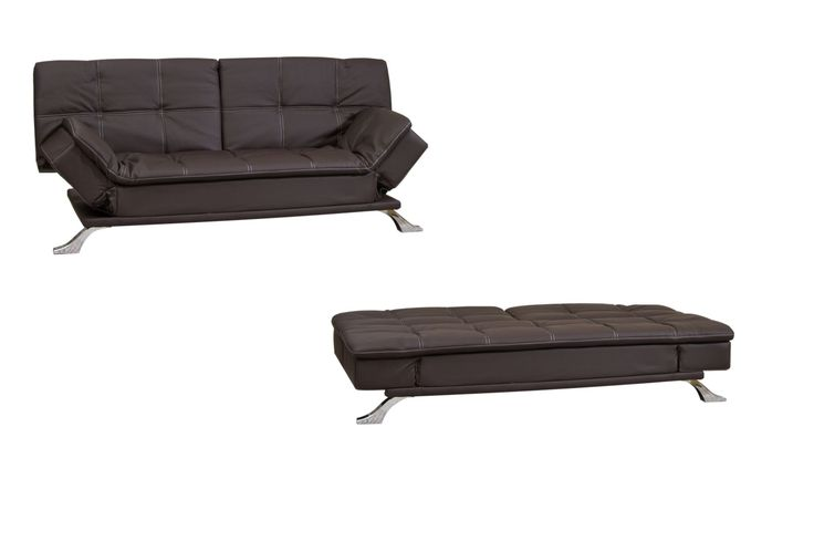 1000 Ideas About Black Leather Sofa Bed On Pinterest