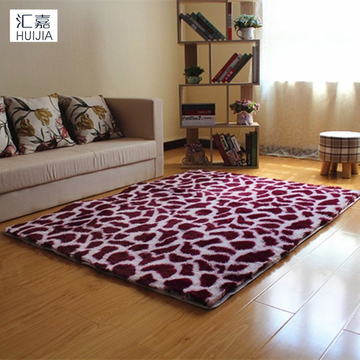 """Leopard Print Plush Non-Slip Door Floor Baby Mat Water Absorption Rugs And Carpets For Living Room Bedroom Alfombras 47""""x62"""""""