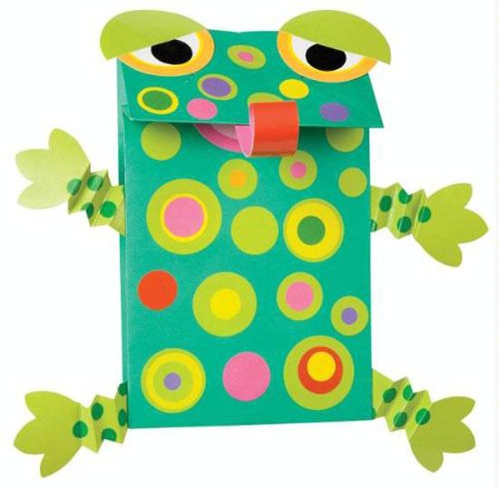 art activity - paper box