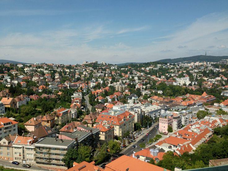 View from Bratislava Castle overlooking the city, Bratislava