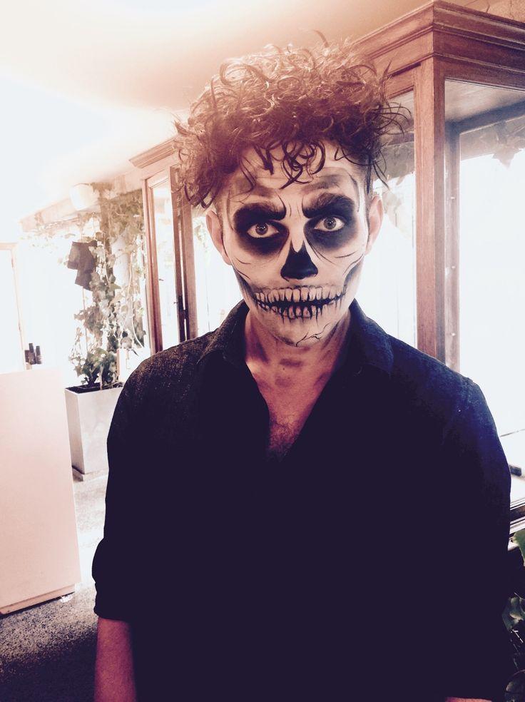 Skeleton Makeup by Ellen