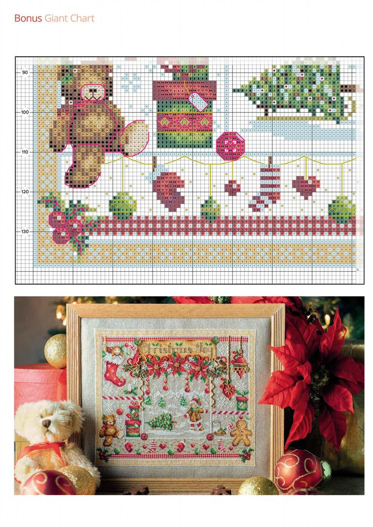 7 of 7 Christmas Joy  From Cross Stitch Collection N°267 October 2016