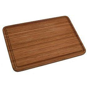 Cleaning 411- How to care for bamboo cutting boards: 1) Wash only with mild soap, use salt for stains and hydrogen peroxide when they come in contact with meat.   2) Apply mineral oil once a month to both sides (Heat mineral oil until warm, wipe board down, let sit for 20 mins and then wipe off excess and put away boards).