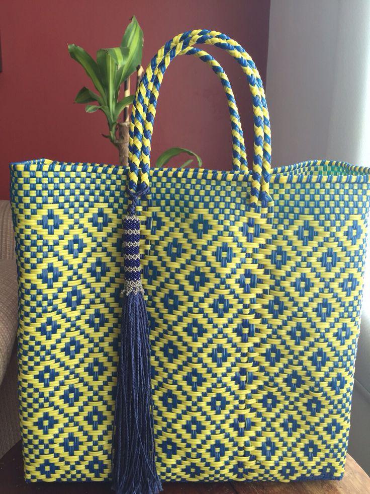 Increíbles bolsas artesanales !!