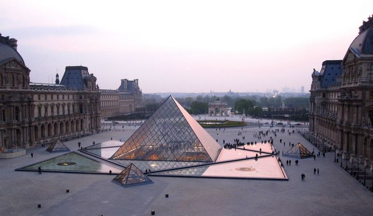 louvre and all it's treasures