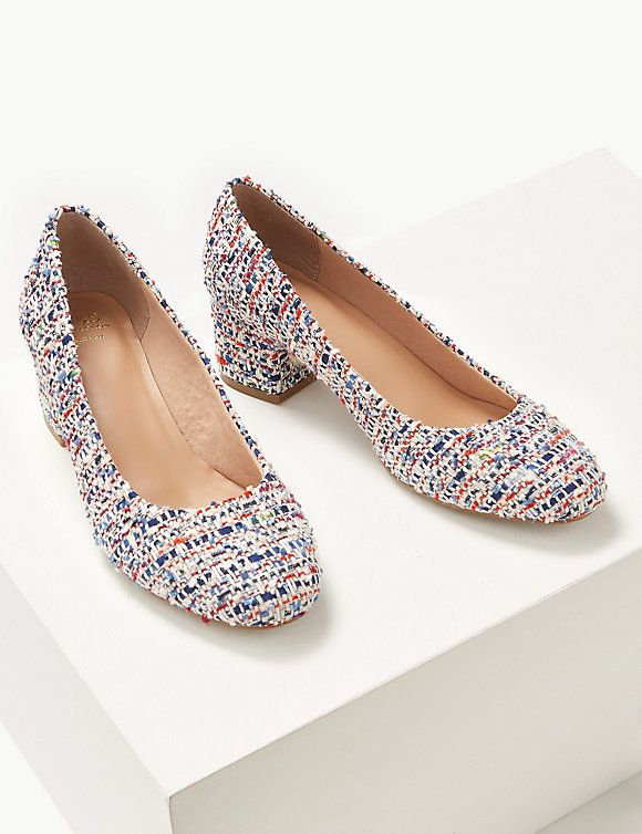 Wide Fit Court Shoes   M\u0026S Collection