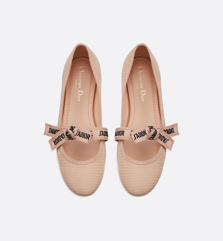 Miss J Adior Ballet Flat In Technical Canvas Shoes Women S Fashion Dior In 2020 Women Shoes Dior Shoes Canvas Shoes Women