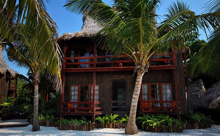Welcome to Ramon's Village Resort On the Beautiful Island of Ambergris Caye Styled after the Tahitian cottages on the Polynesian island of Bora Bora, our cabanas are built from native materials by craftsmen utilizing the same skill and techniques the islanders used in the days of