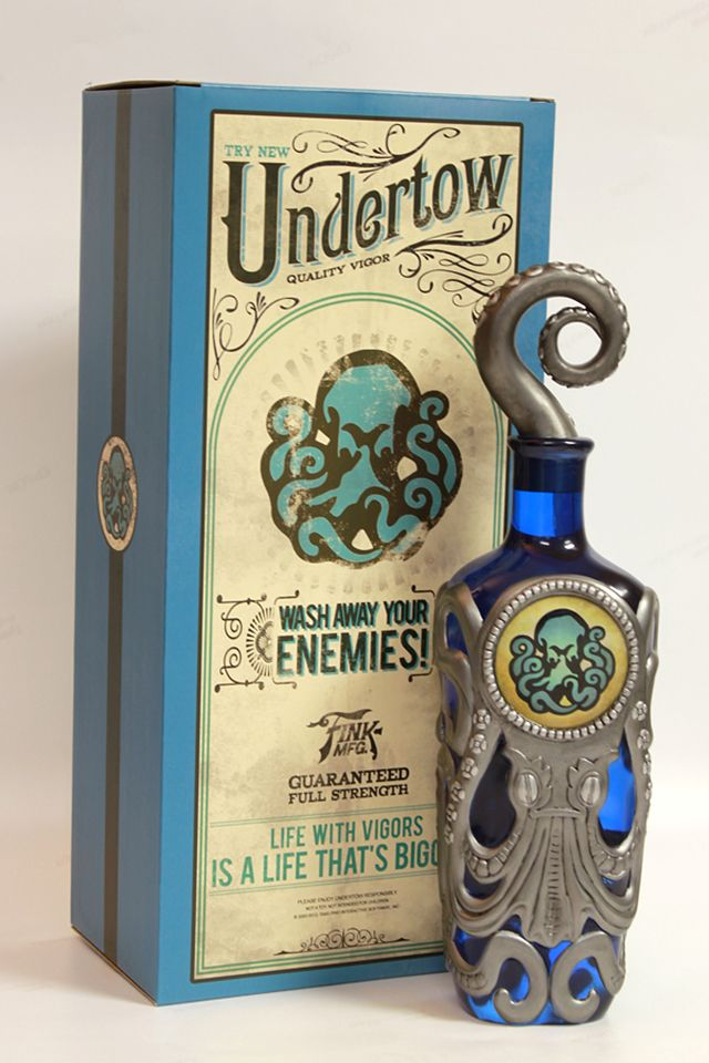 Irrational Games has released a replica BioShock Infinite Undertow Vigor Bottle that are based on the original in-game model. A limited edtion of 500 numbered bottles are available to purchase onli…