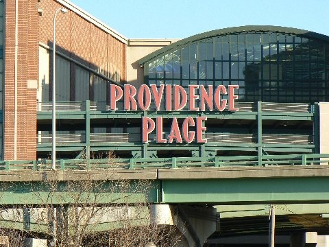 Providence Place mall in providence, rhode island