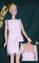Barbie Sun Dress ~ Free Pattern | http://www.crochetnmore.com/fashiondollsundress.htm