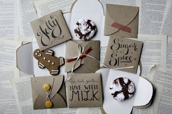 DIY:  Printable Cookie Envelopes - this is such a cute way to give a little treat & this would make a great classroom treat!