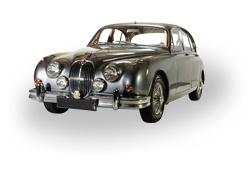 1963 Jaguar Mk2 - grooms car