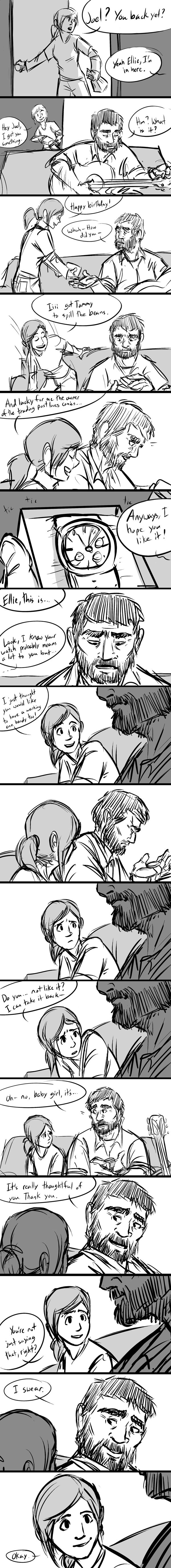 watch [The Last of Us comic] by Ununununium on deviantART now I'm just all out sobbing
