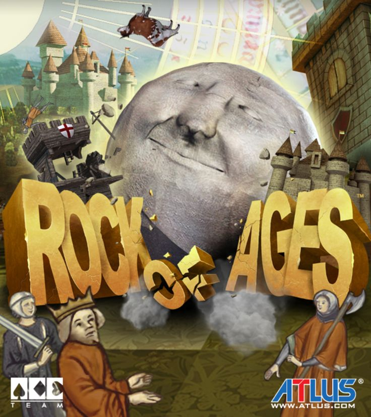 #RockOfAges box art. #RoA is a rock-solid combination of rock-rolling action, deep strategy, and captivating art and music from different ages of history. Get it on Steam: http://store.steampowered.com/app/22230/ Xbox360 http://marketplace.xbox.com/Product/Rock-of-Ages/66acd000-77fe-1000-9115-d80258410a9a PS3 https://www.playstation.com/en-us/games/rock-of-ages-ps3 #VideoGames #Gaming #AtlusUSA #IndieGames #PCGame #PlayStation3 #PS3 #Xbox360 #Comedy #TowerDefense #Racing #GamesArt…