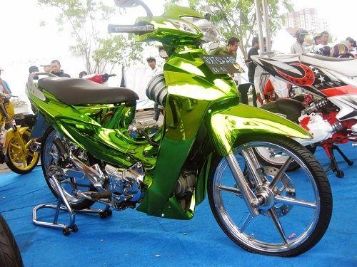 Modifikasi Motor Karisma Honda