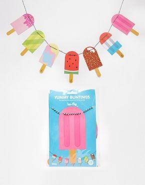 Doiy Yummy Popsicle Bunting