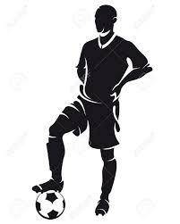 Resultado de imagen de siluetas de arbitros futbol