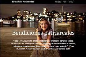 Sirvamos Unidas Sociedad de Socorro  México: ¿QUE ES LA BENDICIÓN PATRIARCAL?