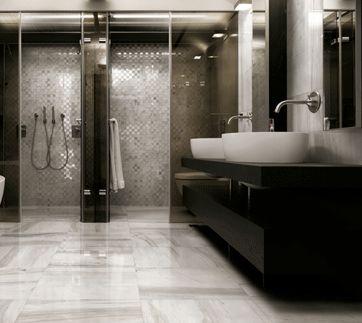 carrelage effet marbre i bianchi decoceram le r seau. Black Bedroom Furniture Sets. Home Design Ideas