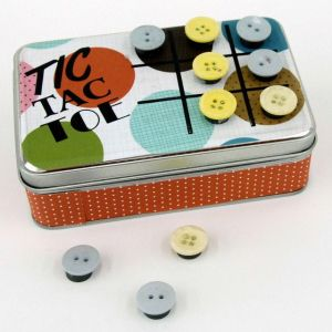 Two in One – Tic Tac Toe Board and Containter | Inspiration Handmade | Projects & Tips from Porters Craft & Frame