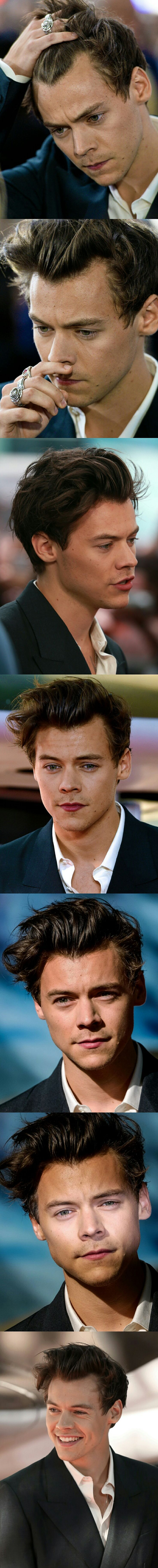 Harry Styles at the world premiere for Dunkirk