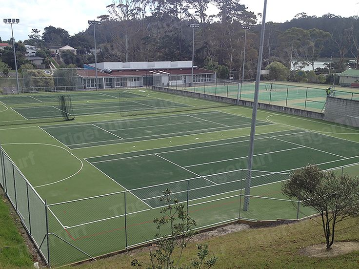 TigerTurf perfect for top performing tennis courts