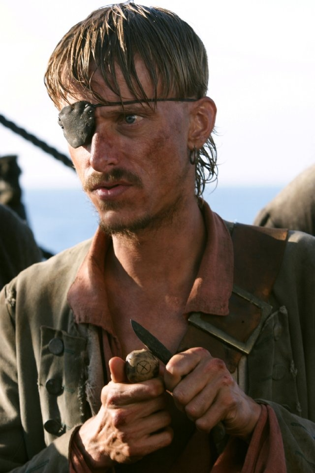 *RAGETTI, played by: Mackenzie Crook in Pirates of the Caribbean: At World's End, 2007