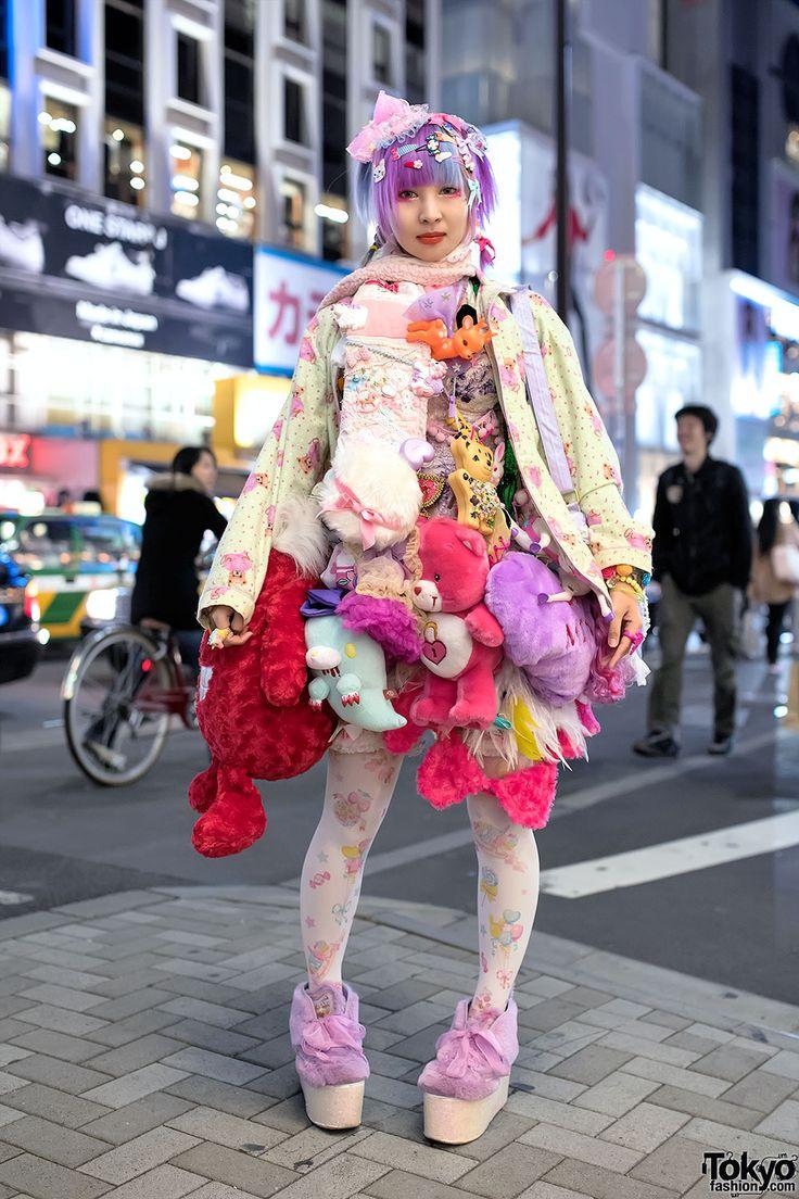 Harajuku Designer w/ Plush Toys Skirt, 6%DOKIDOKI, Swankiss & Kawaii Accessories, tokyofashion.com