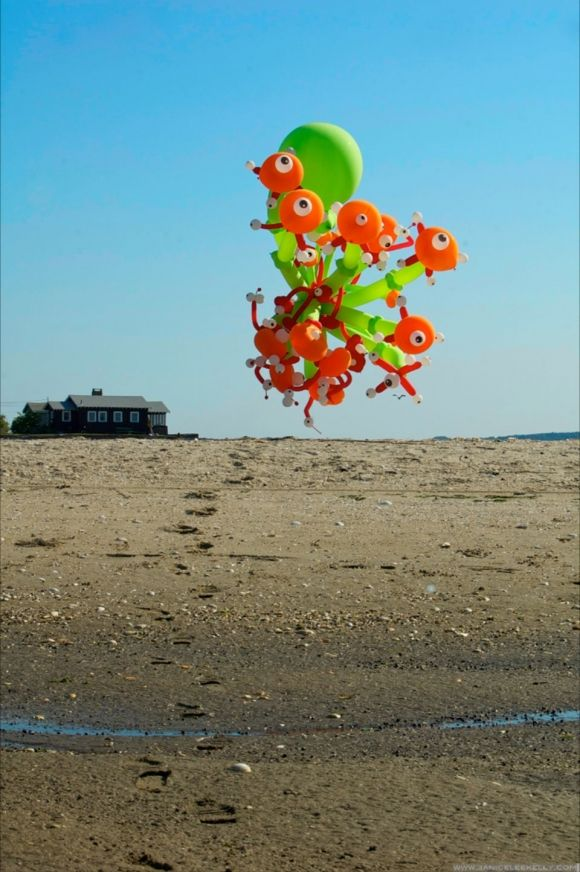A dance of balloons / by Janice Lee Kelly