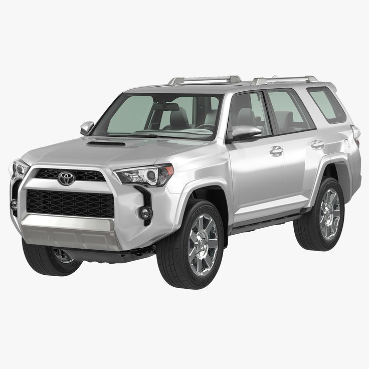 3Ds Toyota 4Runner 2015 Simple - 3D Model
