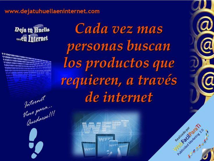 Internet facilita captar usuarios de Internet como potenciales clientes de su empresa