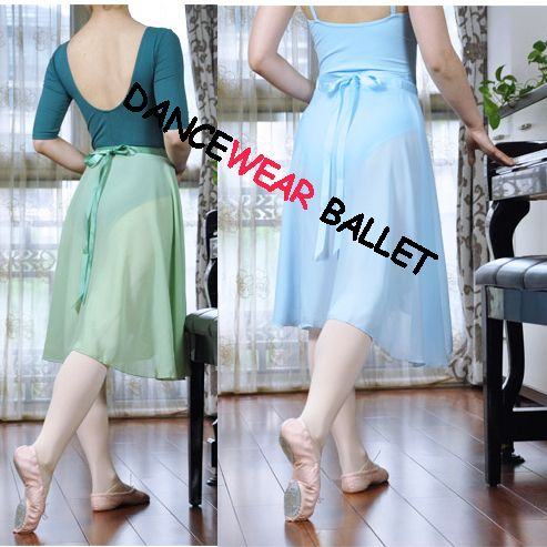Dancewear Ballet Dress Chiffon Long Wrap Skirt;     Style No: DB13004;  Material: Chiffon;  Color: Pink, Lt blue, Burgundy, Green, Black, White; Sizes: One;   We have more dancewear ballet dress skirt, other dancewear and dance shoes at our website: http://www.dancewearballet.com