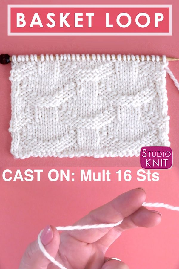 Watch How To Knit All Easy Rows The Seersucker Stitch