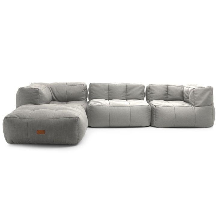 Louis Fashion Bean Bag Sofas Lazy Couch Single Tatami