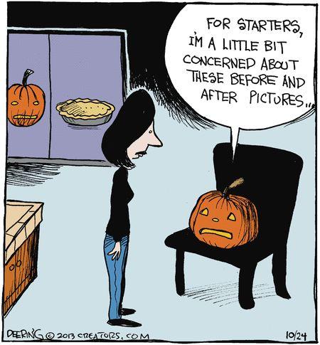 Halloween Pumpkin Humor: Strange Brew (Oct/24/2013)