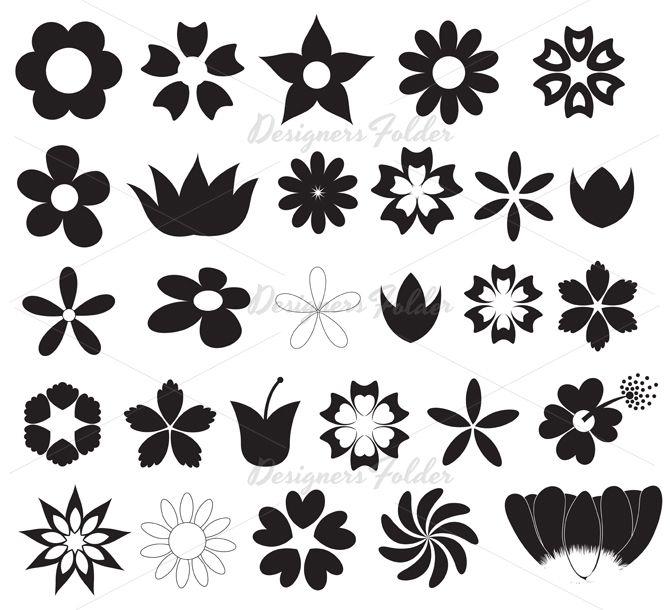 25+ Best Ideas about Flower Silhouette on Pinterest ...