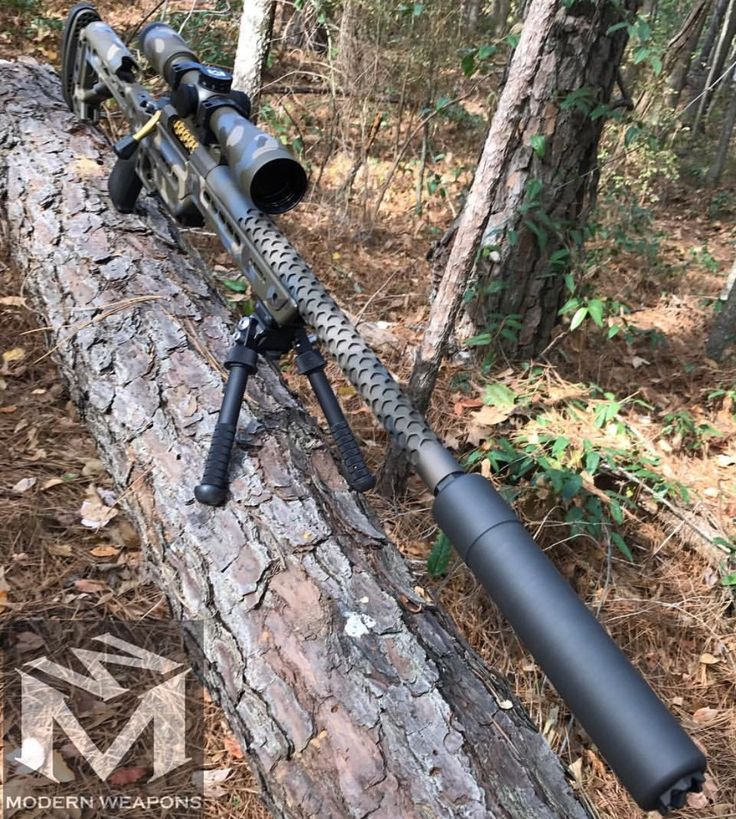 Suppressed Long range Rifle