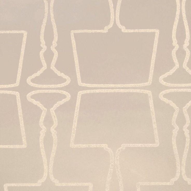 Clarke & Clarke Light Me Up Wallpaper in Silver Sparkle