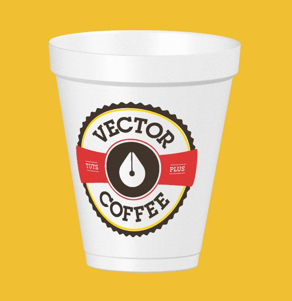 How To Create A Coffee Cup Mock Up With Illustrator