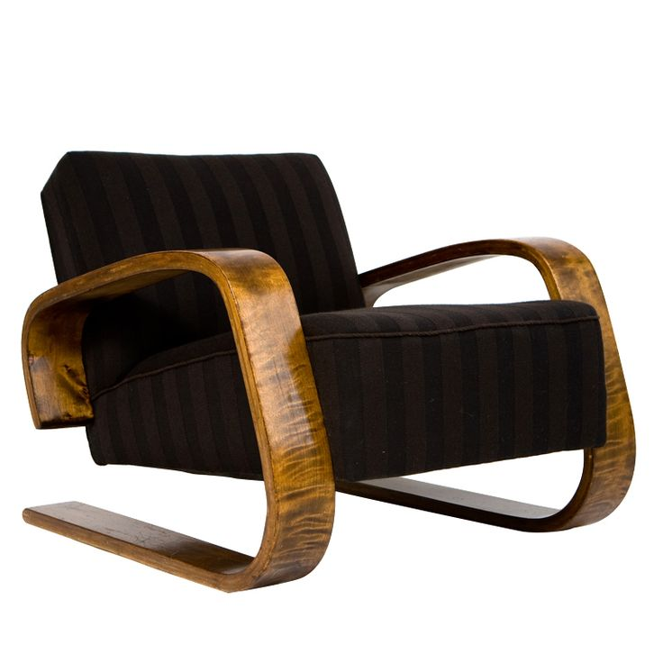 Alvar Aalto 30-400 Tank Chair | From a unique collection of antique and modern lounge chairs at http://www.1stdibs.com/furniture/seating/lounge-chairs/