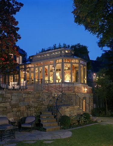 conservatory by Barnes Vanze Architects