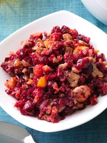 Thanksgiving: Horseradish cranberry relish