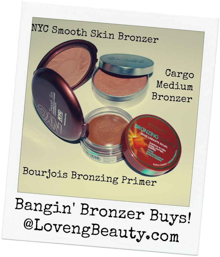 If you're feeling your summer glow slipping away...here are some nice bronzers to help extend your tan!