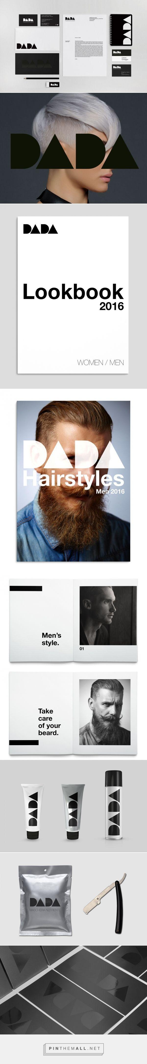 Brand identity DADA Parrucchieri | Bocanegra Design Studio. Identity created for an hairstyle salon.