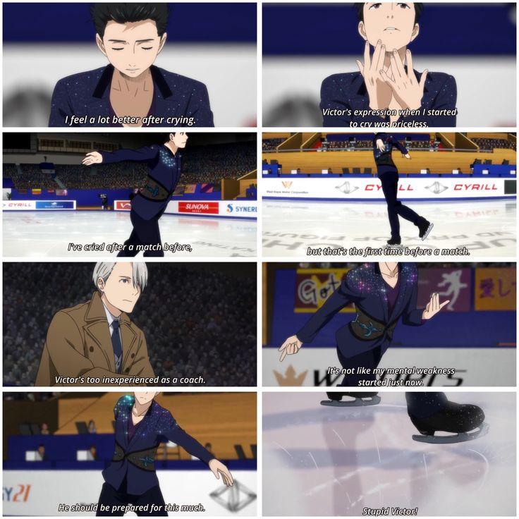yuri!!! on ice - episode 7 - #yoi - viktor nikiforov x katsuki yuuri